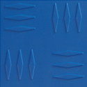 Grip Lock Designer Coin Tile Blue