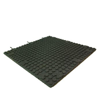 Ultra Strength Rubber Tile Pro Gym 1 Inch Rubber