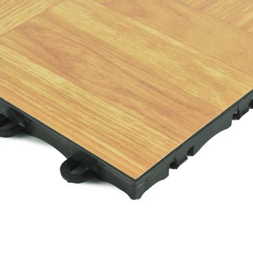 Portable Dance Tiles Wood Grain Vinyl