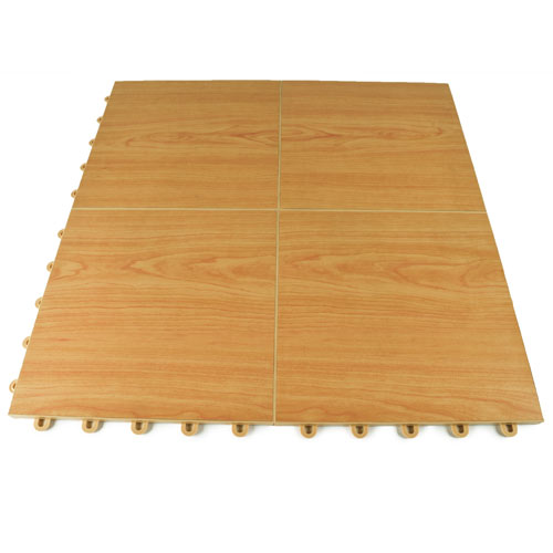 Portable Dance Floor Tile Wood Grain Vinyl Nutek Flooring